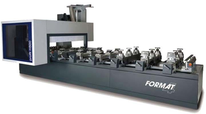 Format-4 Centres d'usinage CNC Profit H500 S-Motion