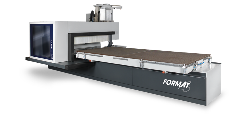 Format-4 Centres d'usinage CNC Profit H500 MT