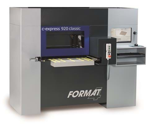 Format-4 Centres d'usinage CNC C-express 920