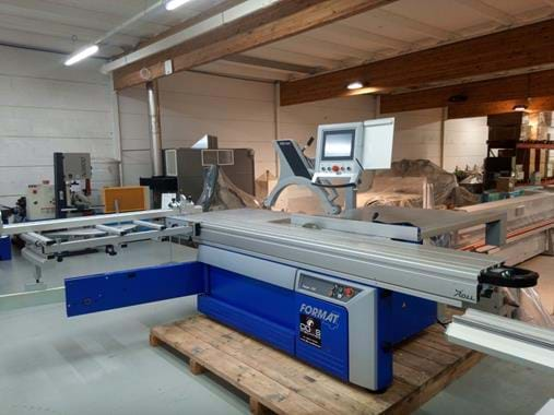 Format4 Sawing technologie